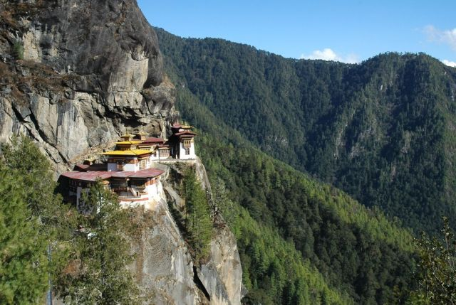Bhutan - Beautiful nature reserve and majestic mountains