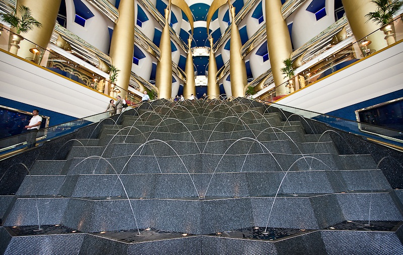 The Burj- al-Arab Hotel, Dubai - Fantastic design