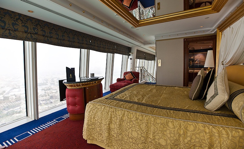 The Burj- al-Arab Hotel, Dubai - Gorgeous two-story room