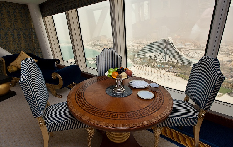 The Burj- al-Arab Hotel, Dubai - Real luxury