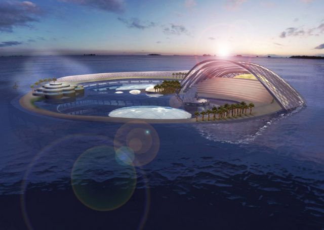 Hydropolis underwater hotel in dubai the most futuristic for Nicest hotel in the world dubai
