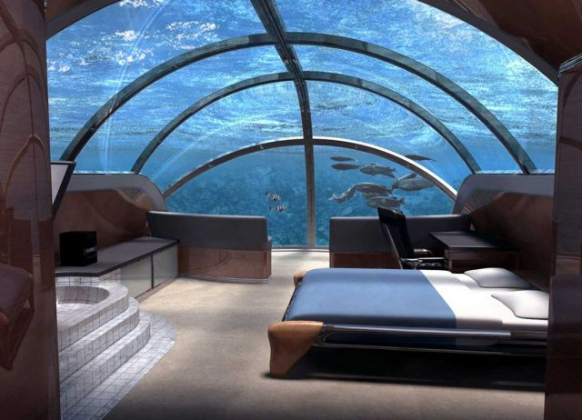 The Poseidon Underwater Resort, Fiji - Top underwater marine spot