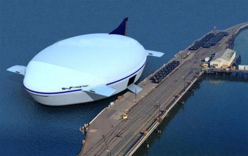 Largest Airplane Luxury : The flying aeroscraft hotel california usa most