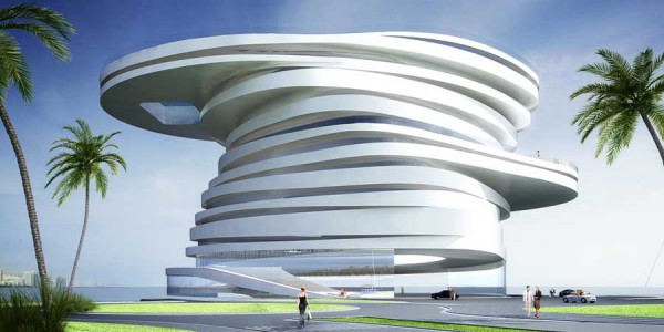 Helix Hotel, Abu Dhabi, UAE - Amazing architectural construction