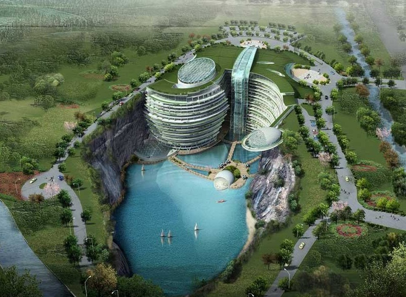 Waterworld  Hotel, Songjiang, China - Panoramic view