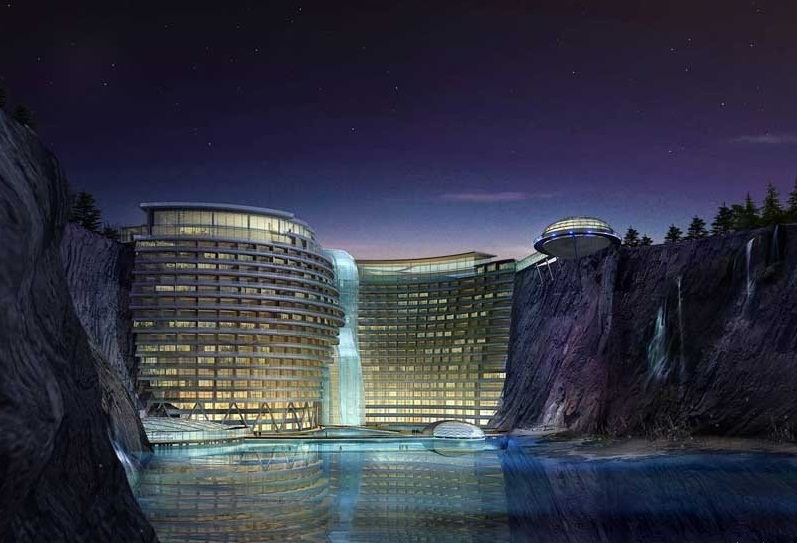 Waterworld hotel songjiang china the most futuristic for 10 unique hotels around the world