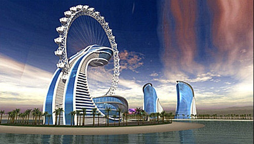 The Diamond Ring Hotel Abu Dhabi Futuristic