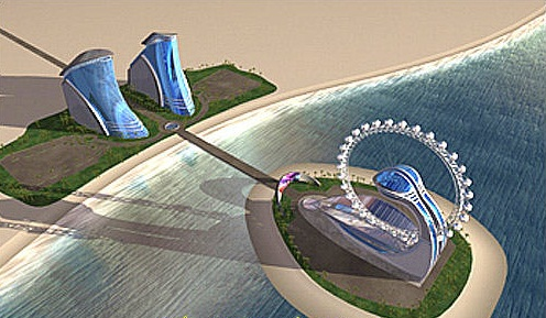 The Diamond Ring Hotel, Abu Dhabi - Panoramic  view