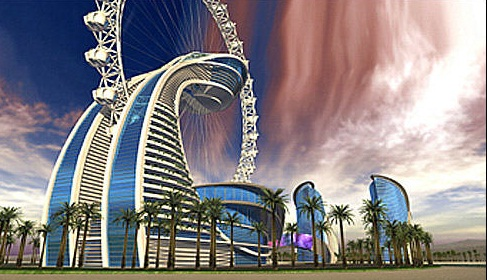 The Diamond Ring Hotel, Abu Dhabi - The concept of the future