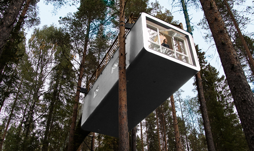 Tree hotel, Sweden - Magnificent hotel