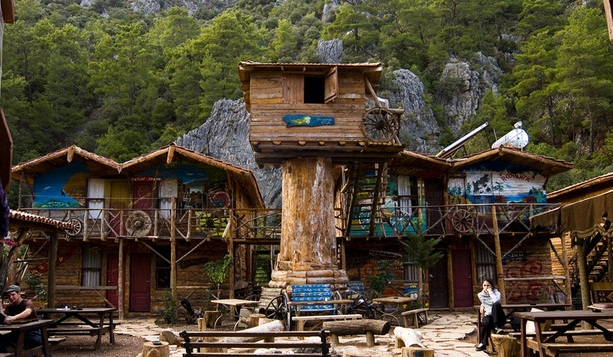 Kadir Tree House, Turkey   - Unique eco-friendly hotel