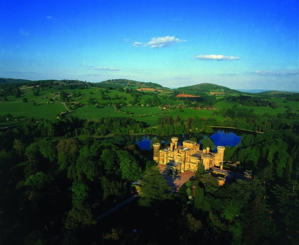 Eastnor Castle, United Kingdom - Fascinating view