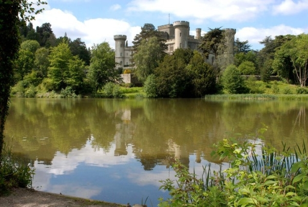 Eastnor Castle, United Kingdom - Genuine medieval castle
