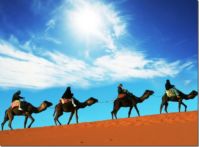 The Sahara Desert, North Africa - Magnificent place