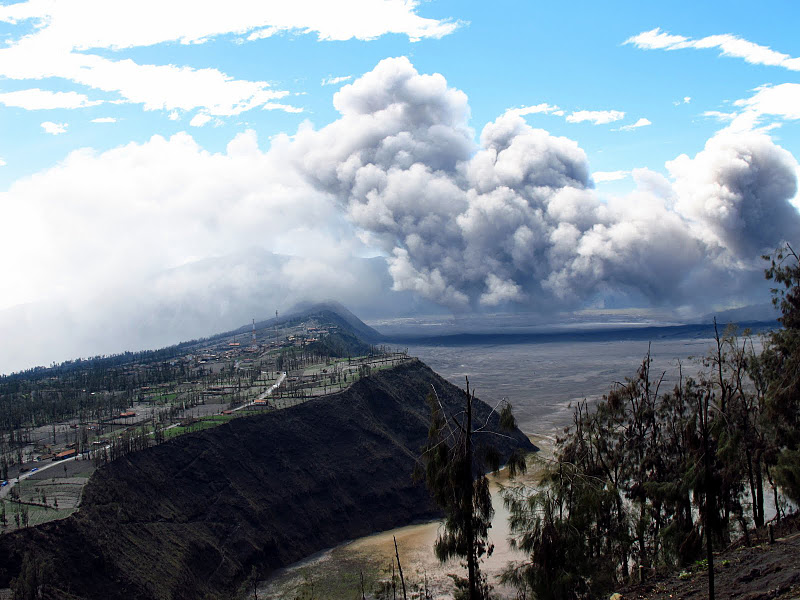 Bromo - Isolated area