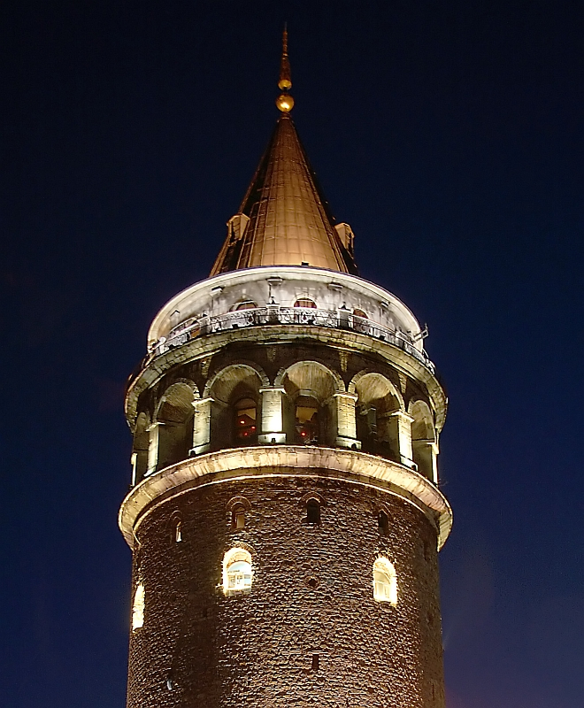 Galata Tower - The Most Famous Towers in the World