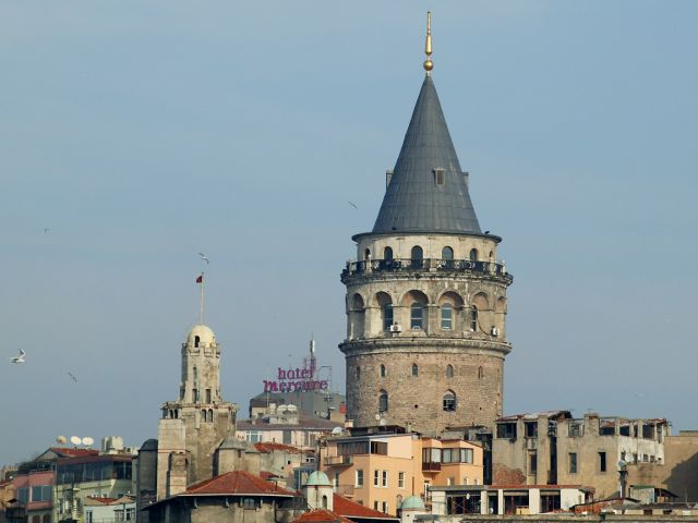 Galata Tower - Picturesque view