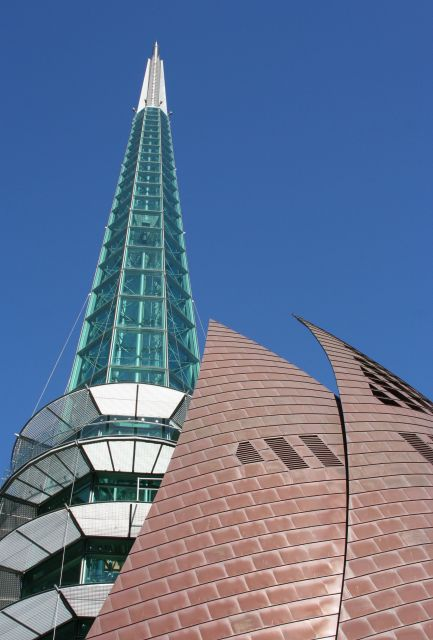 The Swan Bell Tower  - Distinctive design