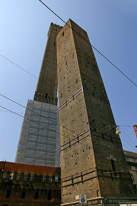 The Two Towers of Bologna - Beautiful view