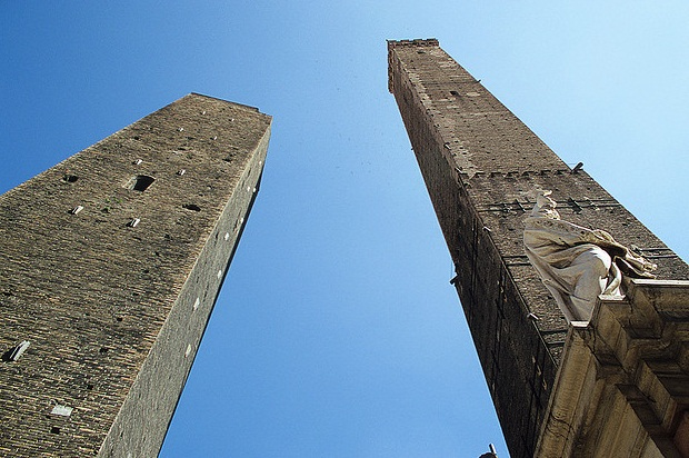 The Two Towers of Bologna - Famous Towers