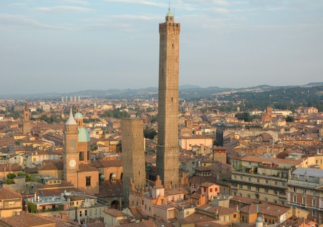 The Two Towers of Bologna - Fantastic view of the towers