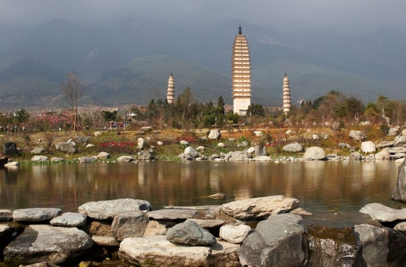 The Three Pagodas, Dali - Best Buddhist structure