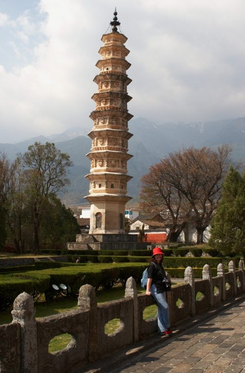The Three Pagodas, Dali - Remarkable tower