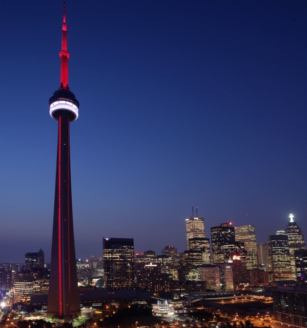 The CN Tower, Toronto - Symbol of Canada