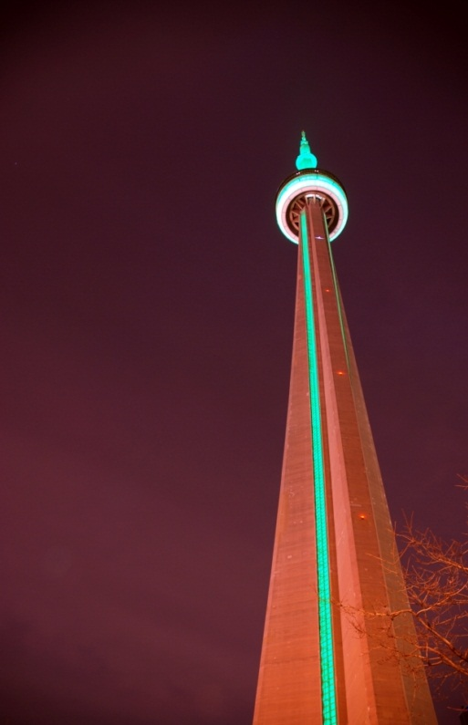 The CN Tower, Toronto - The second highest tower in the world
