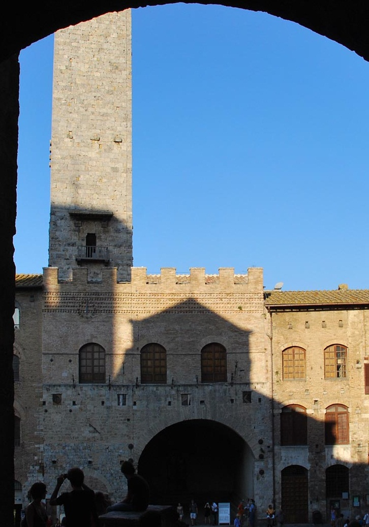 The Towers of San Gimignano, Italy - Historical miracle