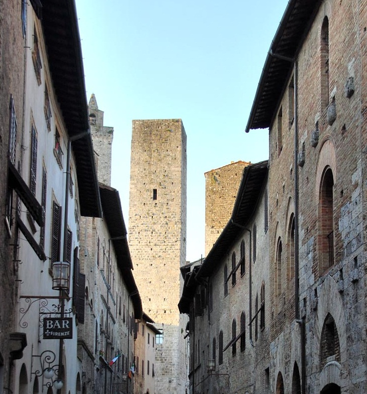 The Towers of San Gimignano, Italy - Huge towers