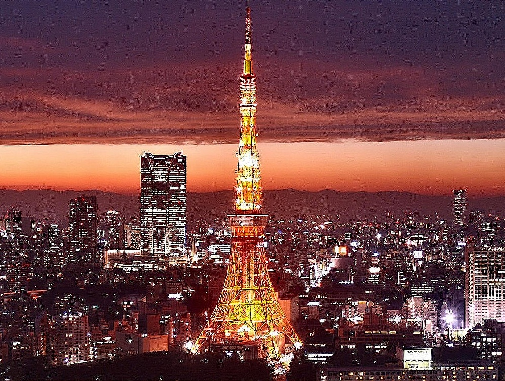 The Tokyo Tower - Amazing view