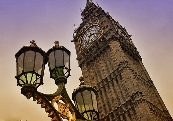 Big Ben - Huge clock tower
