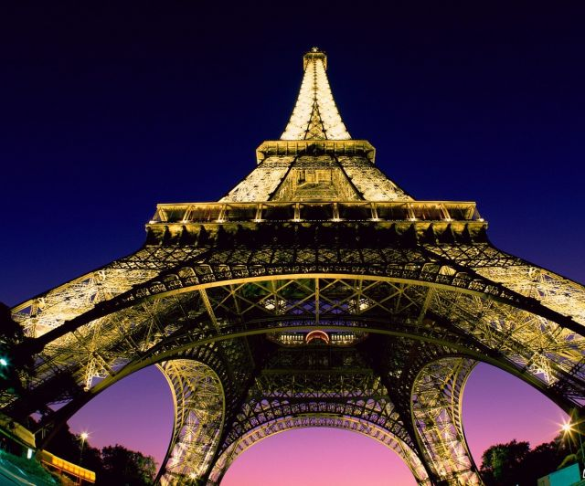 The Eiffel Tower - Picturesque view