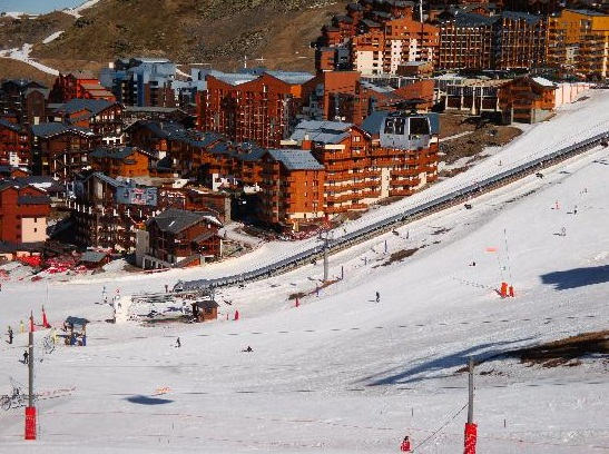 Val Thorens, France - Fairly place