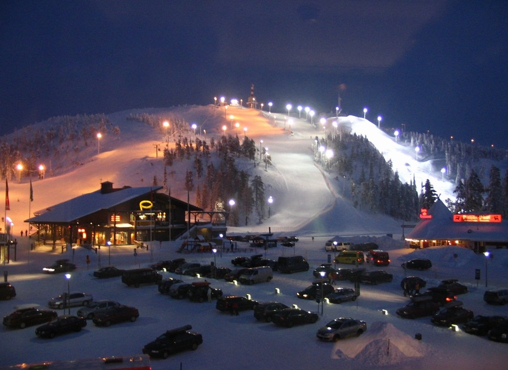 Kuusamo, Finland - Perfect resort for the winter