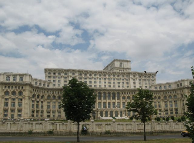 The Palace of the Parliament, Bucharest - Striking Building
