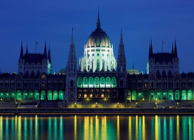 The Hungarian Parliament, Budapest - Majestic Hungarian Building
