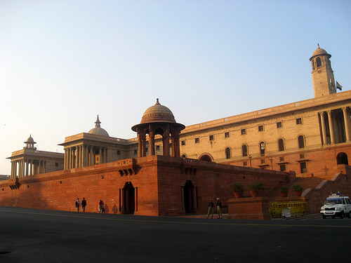 The Secretariat Building, New Delhi - Unique design