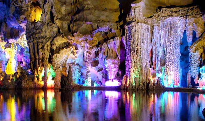 Reed Flute Cave, China - Magical world