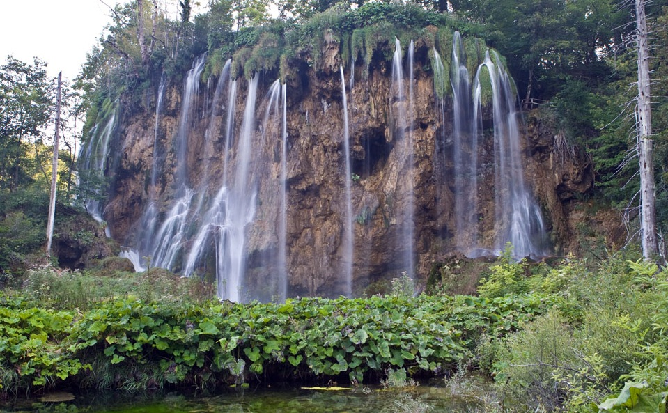 The Plitvice Lakes National Park - Natural dam