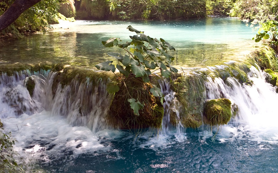 The Plitvice Lakes National Park - Picturesque view