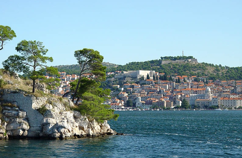 Sibenik - Bustling tourist center