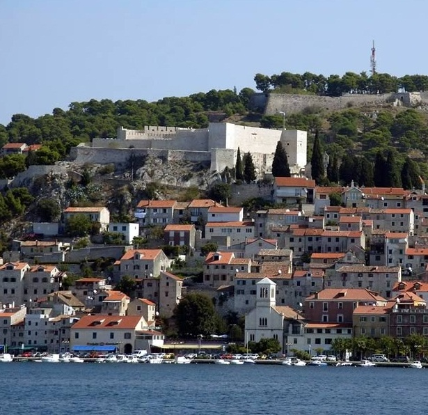 Sibenik - Picturesque city in Central Dalmatia