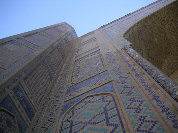 Bibi Khanum Mosque - Impressive decoration