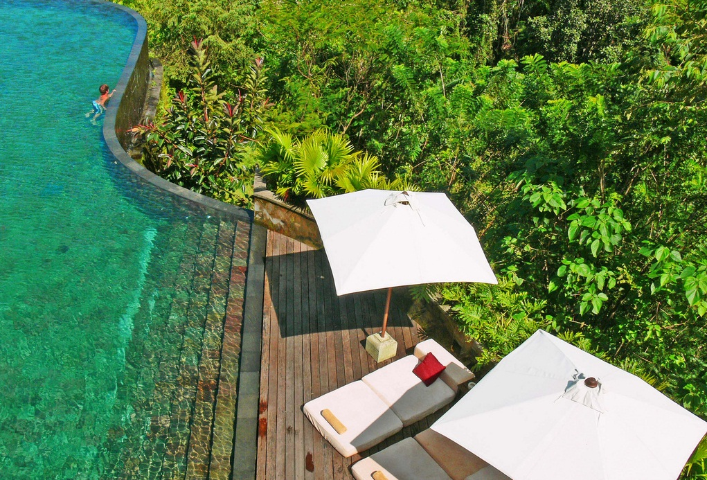 Ubud the best places to visit in indonesia for Hanging garden pool ubud