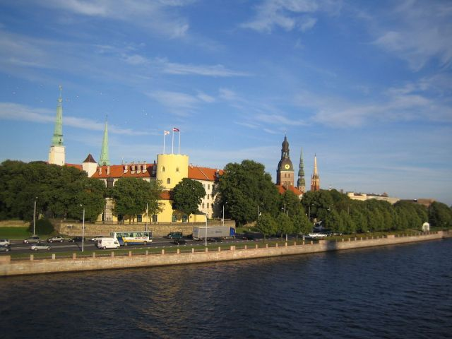 Riga Castle - Wonderful view