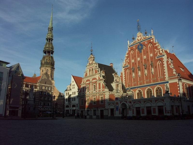 The House of Blackheads - Holy image of Riga