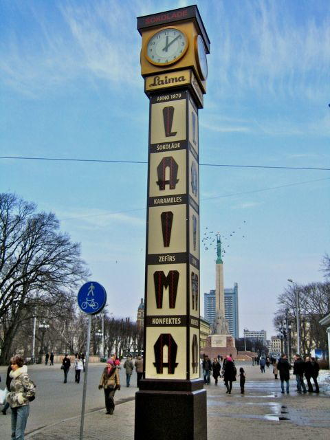 The Laima Clock - Popular Meeting Place