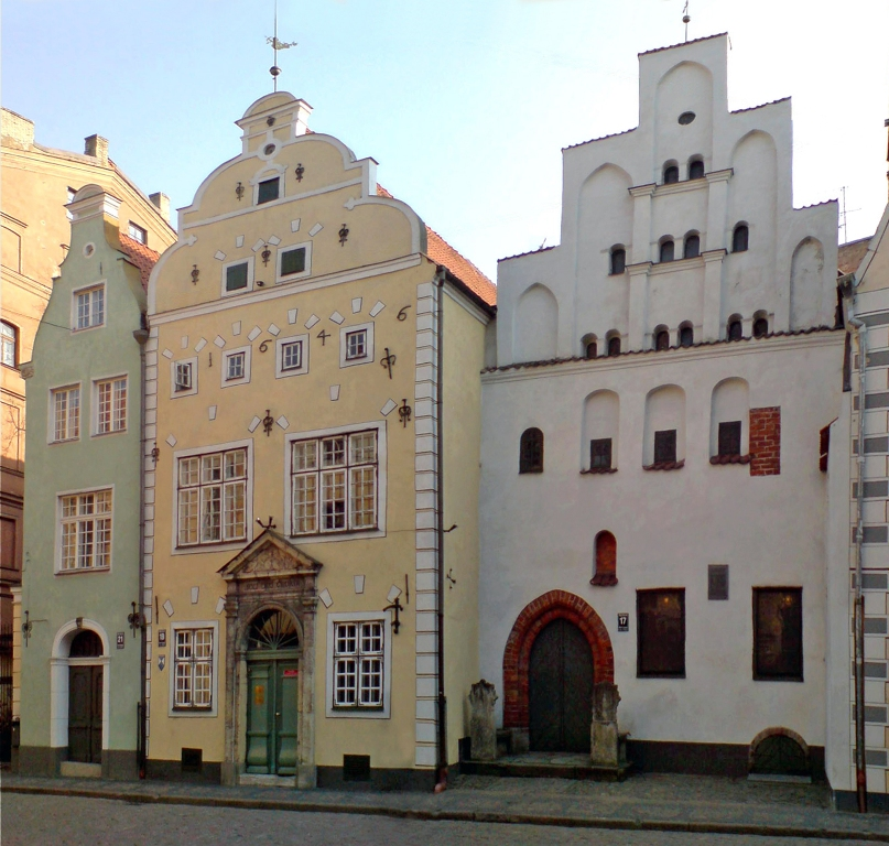 The Three Brothers - Dwelling Houses of the Medieval times